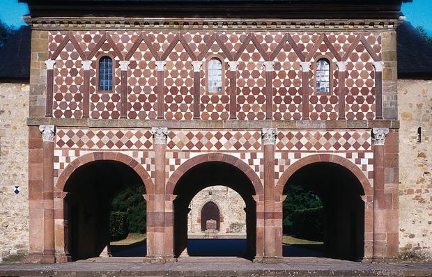 Karolingische Torhalle im Kloster Lorsch. Copyright: Institut für Europäische Kulturgeschichte, Universität Heidelberg