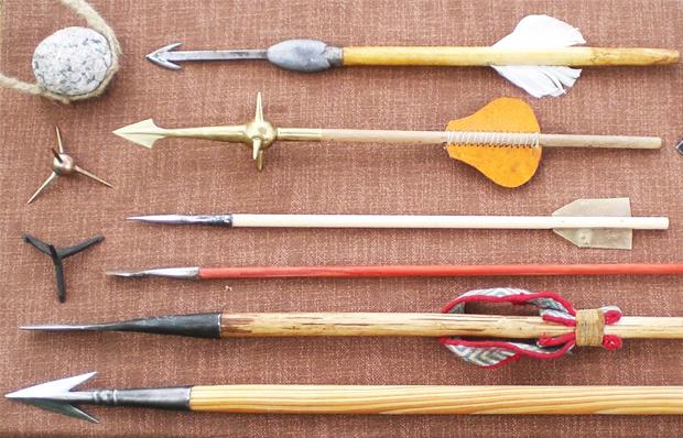 Prähistorsische und antike Fernfeuerwaffen